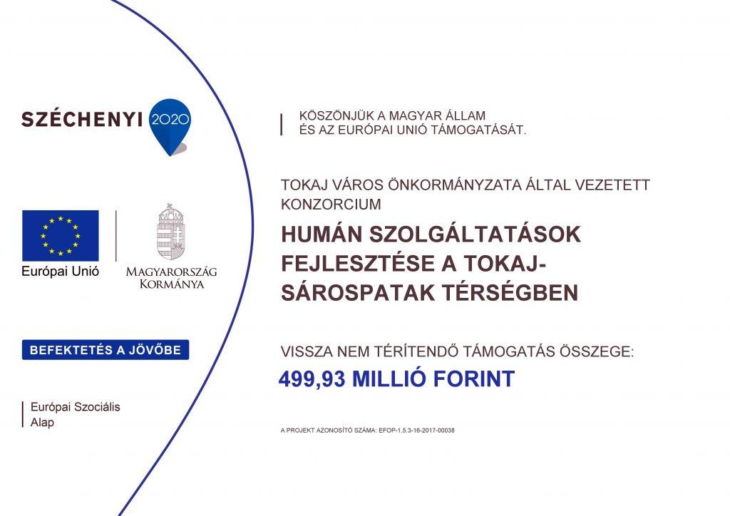 Projekt hivatalos logója. A képre kattintva további információk találhatóak.