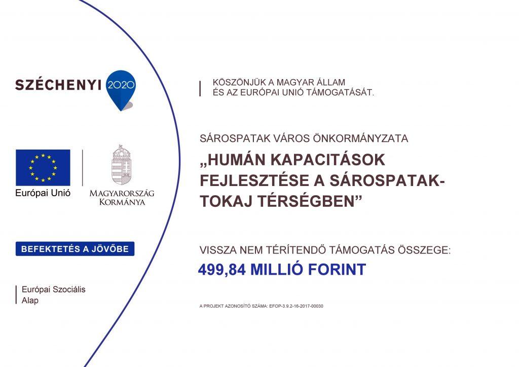 Projekt hivatalos logója. Képpre kattintva további információk találhatóak.